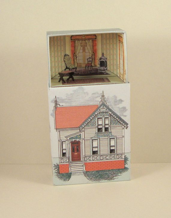 Number 27 Victorian House Printable Match By