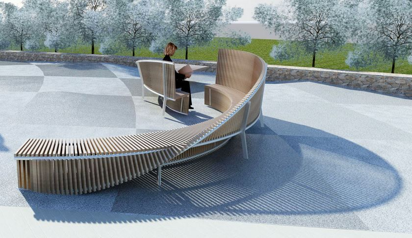 Council accepts new funky bench sculptures for bayside