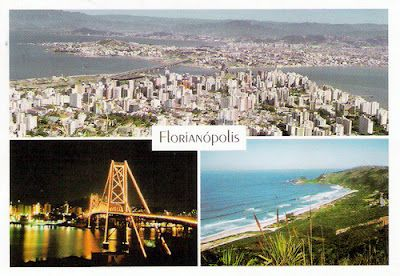 Florianópolis in Santa Catarina is surrounded by beatiful beaches and people tha come from all over the world. A must see for sure!