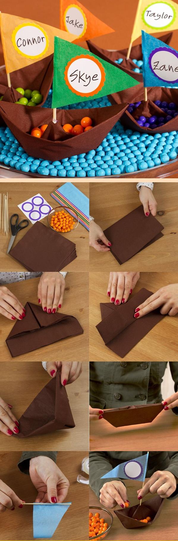 Napkin Fold #napkifold