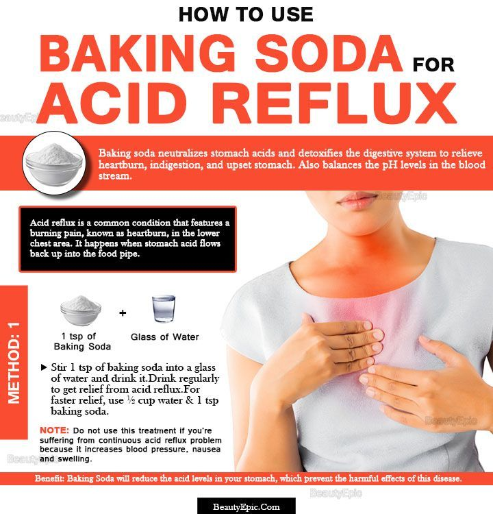 Baking Soda for Acid Reflux: How to Use? | First Aid, Home