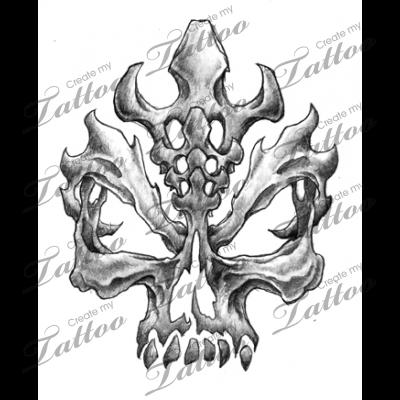 Marketplace Tattoo Twistedskull 10985 Createmytattoo Com Skull Drawing Tattoo Graffiti Tattoo Skulls Drawing