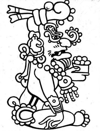 Buluc Chabtan Mayan God Of War With Images Mayan Symbols