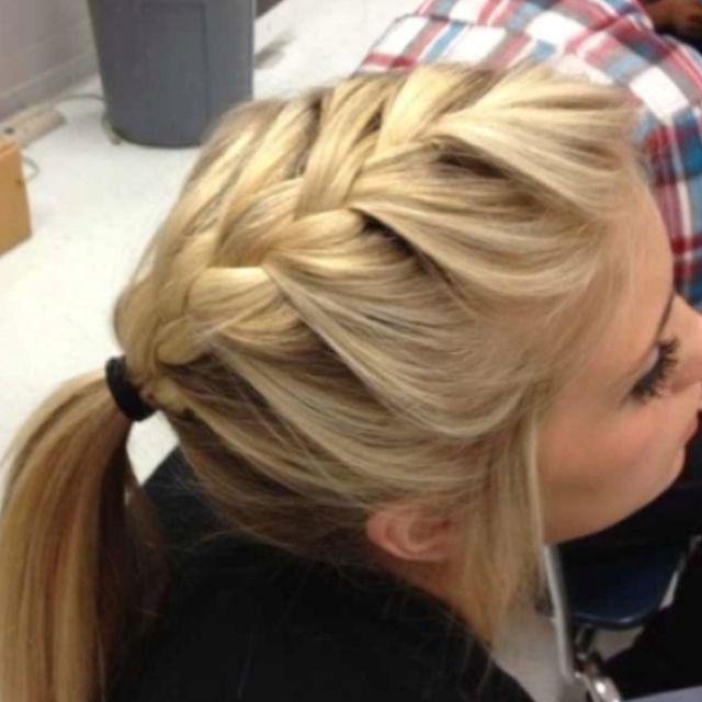 Ponytail braid!!