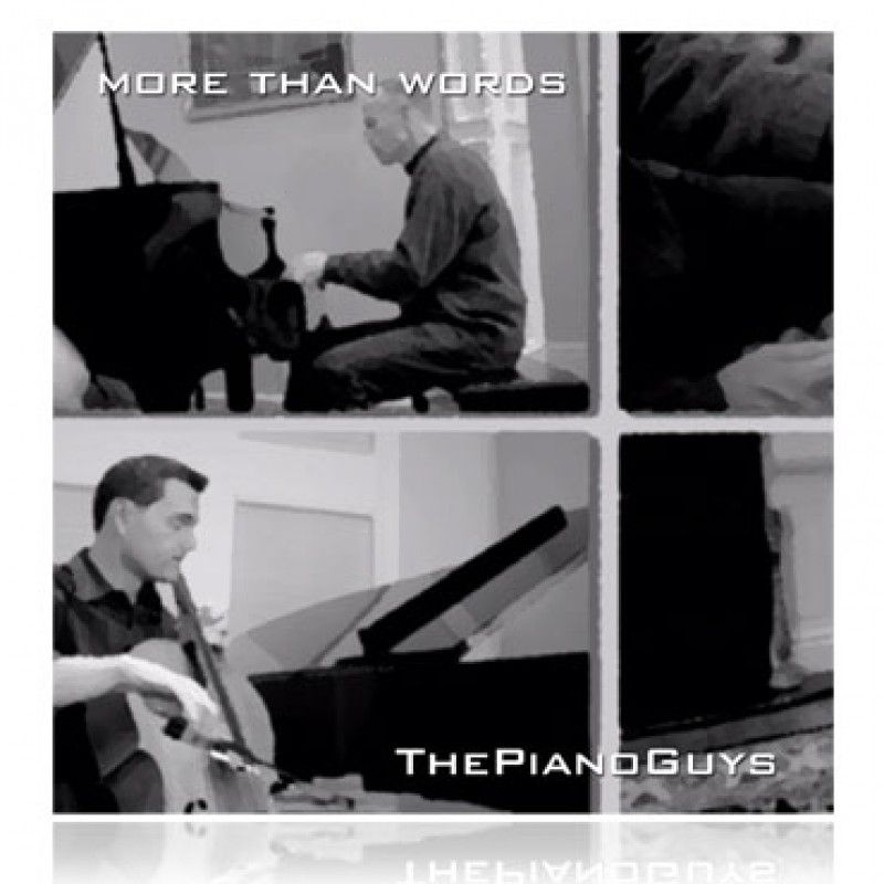 More Than Words Extreme Piano Cello Vocal Cover Feat J Rice