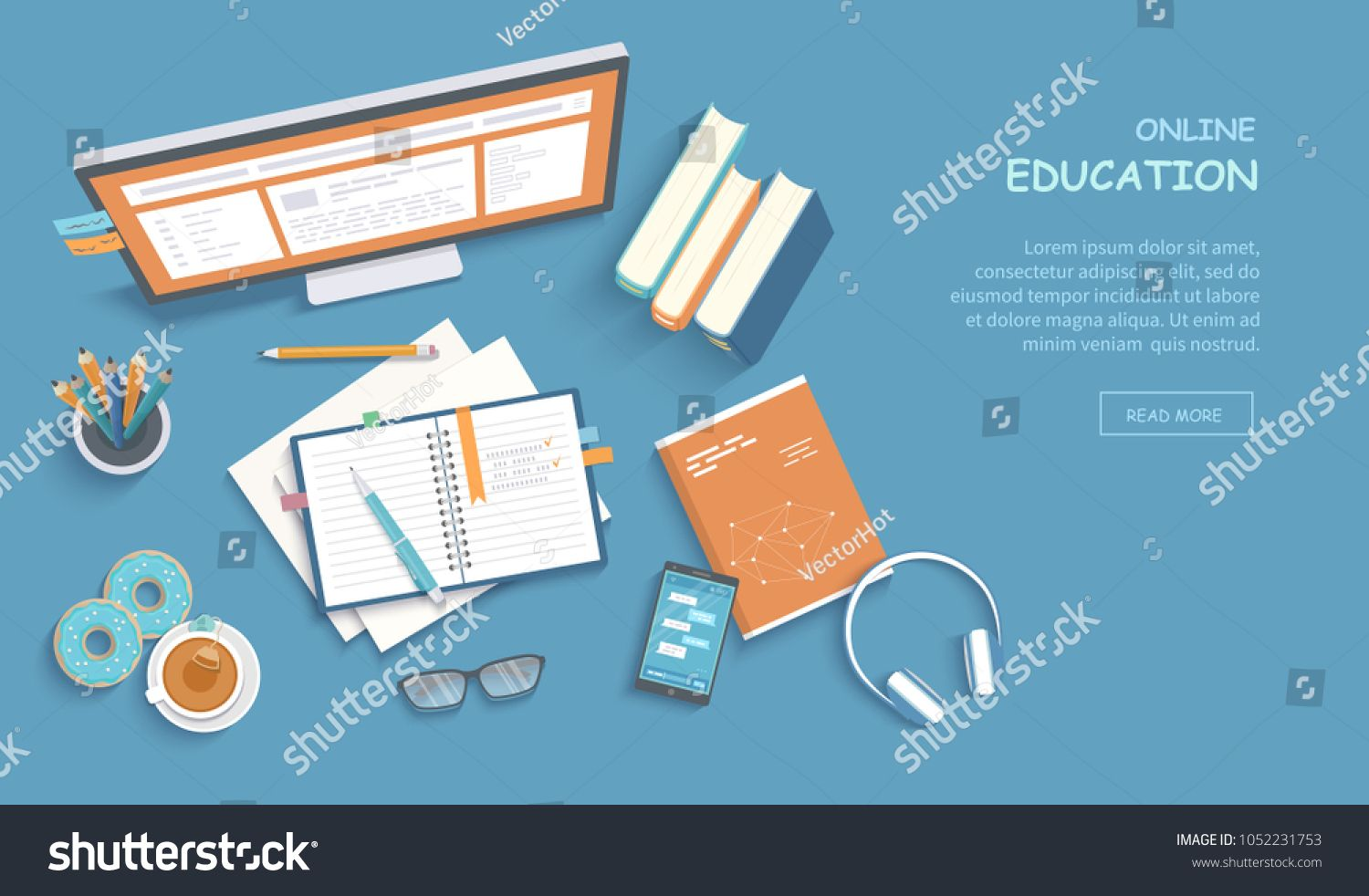 Online Education Training Courses E Learning Distance Learning Exam Preparation Home Schooling Web Banner Web Banner Web Banner Design Online Education