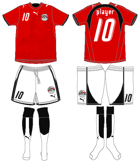 f69470fef Egypt - Home Jersey (2006)