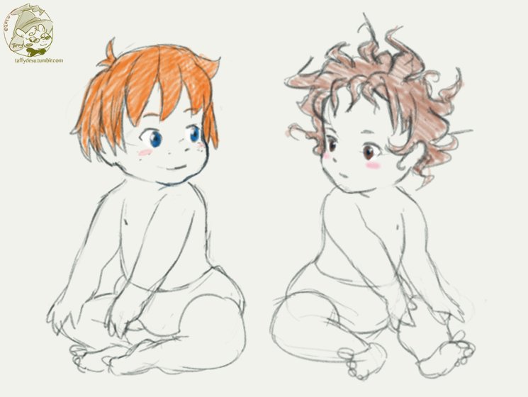 Ronja and birk babies by TaffyDesu | Ghibli Amazingness | Pinterest ...