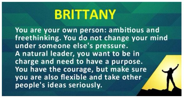 Thats me! Brittany Nichole