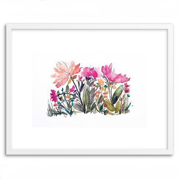 """Minted for west elm - Island Wildflowers No. 4 - 20""""w x 26"""" - $169 (less 20% is $135.20"""