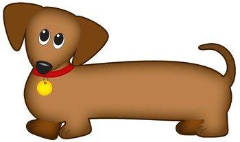 Dog Clip Art Dachshund Dog Wiener Dog Sausage Dog Dog Clip