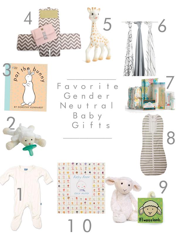 10 Favorite Gender Neutral Baby Gifts Sarah Tucker Gender Neutral Baby Gifts Neutral Baby Gifts Gender Neutral Baby Registry