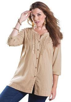 Plus Size Glam Bigshirt BCO. $16.99