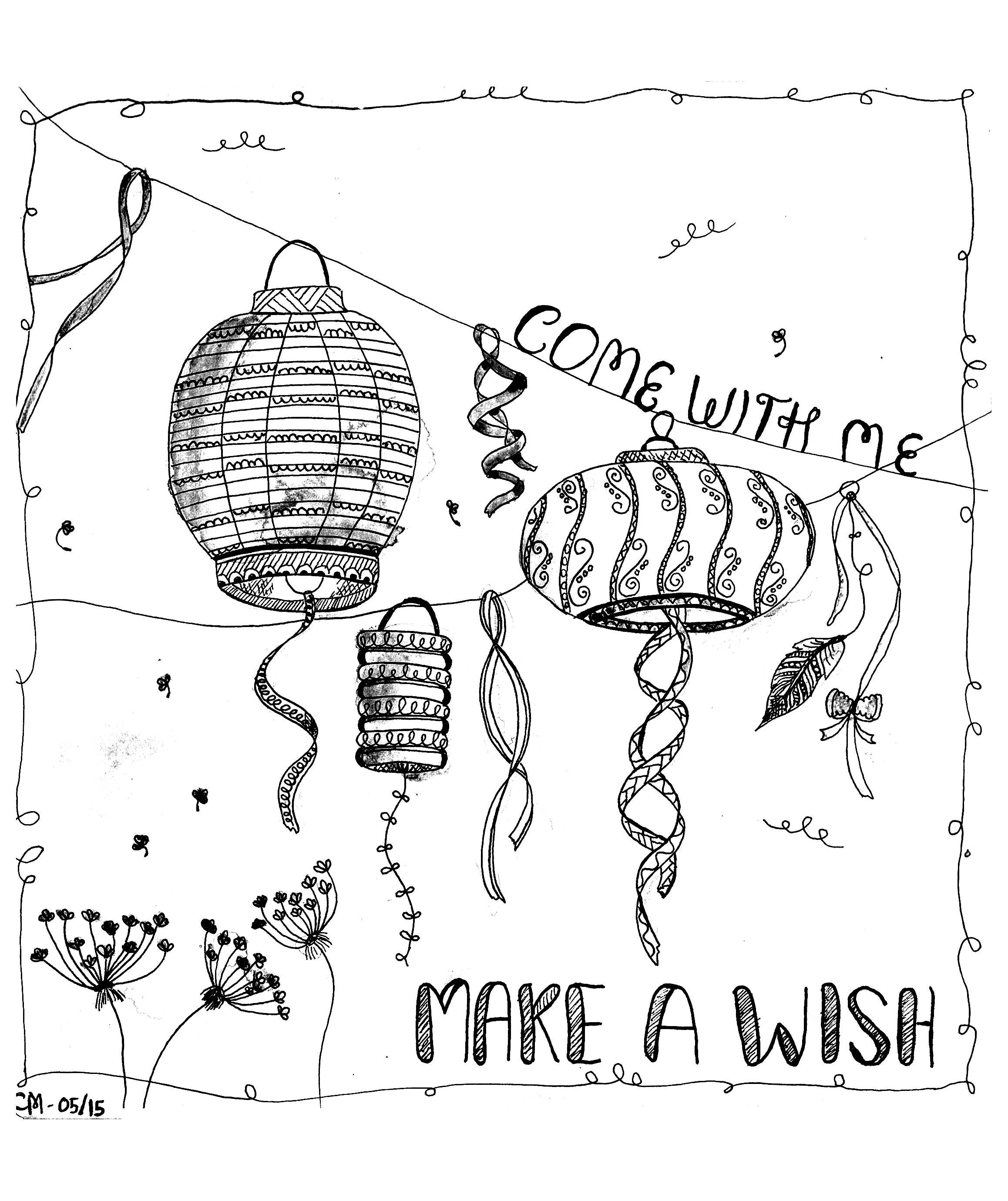 Free coloring page coloring-zentangle-by-cathym-5. 'Make a