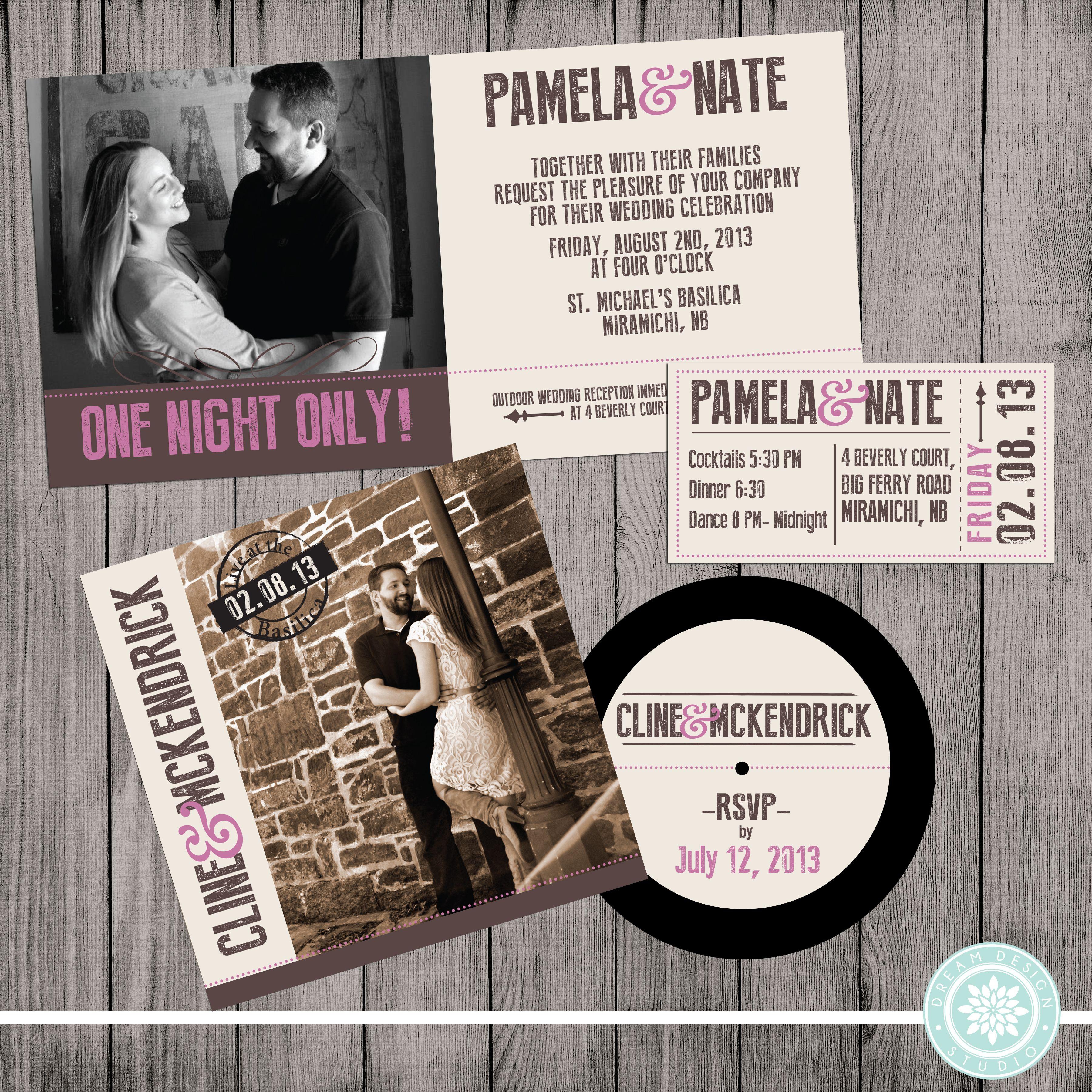 comic book inspired wedding invitations%0A CD wedding Invitation
