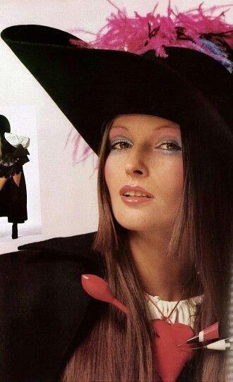 Vogue Italia 1970 Viviane Fauny by Alfa Castaldi
