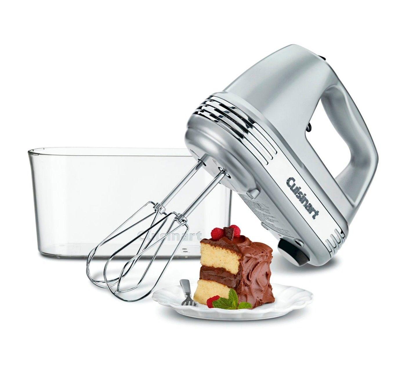 Cuisinart power advantage plus hand mixer white hm90s