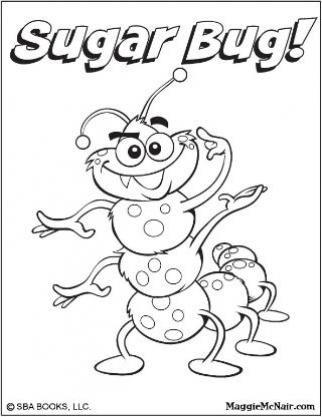 beat bugs coloring pages   Maggie McNair Sugar Bug coloring sheet   Activities ...