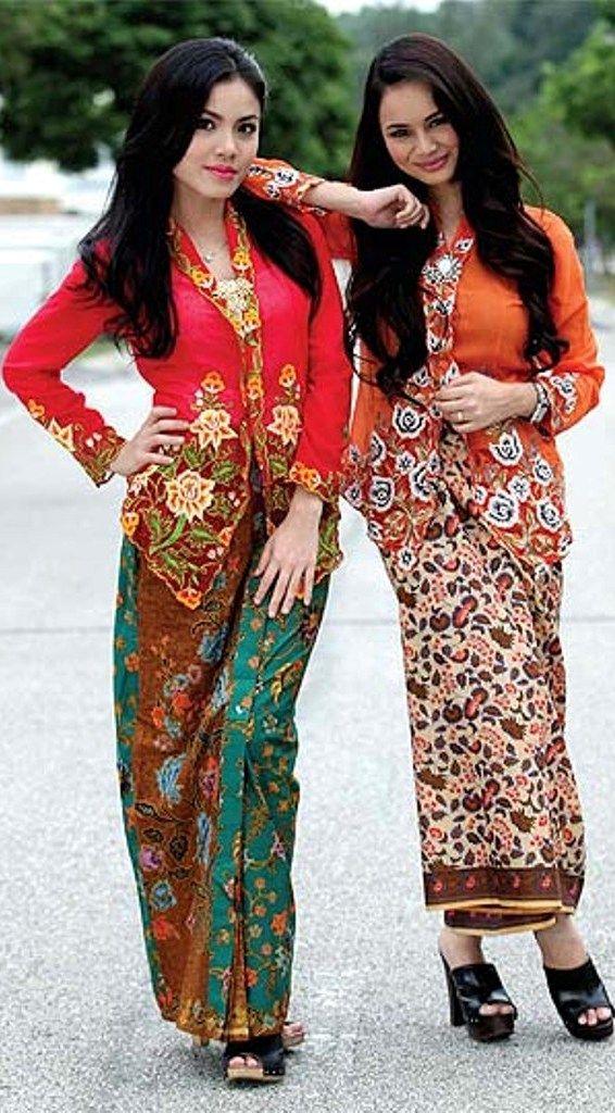Kebaya Nyonya Malay Traditional Costume in 2019