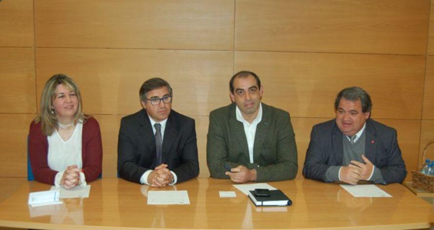 Campomaiornews: Dirigentes do Alentejo do Instituto do Emprego e F...