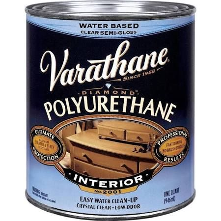 Varathane Interior Water Based Polyurethane Int S G W B Polyurethane Most Recommended Polyacrylic Varathane Polyurethane