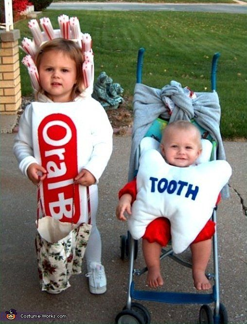 Matching Sibling Costumes For Kids Halloween | POPSUGAR Moms  sc 1 st  Pinterest & Win Halloween With These 41 Sibling Costume Ideas | Sibling costume ...