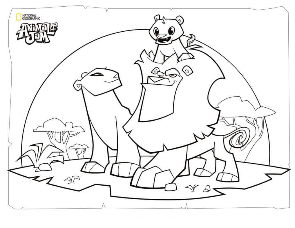 Coloring Rocks Animal Jam Peppa Pig Coloring Pages Animal Coloring Pages