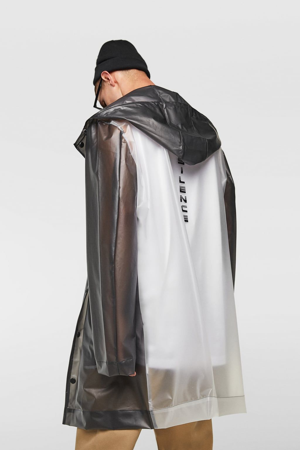 luxury aesthetic half off top-rated latest Image 3 of TRANSPARENT TWO-TONE PARKA from Zara | STREETWEAR ...