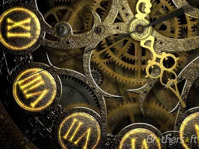 Download Free Mechanical Clock 3d Screensaver Mechanical