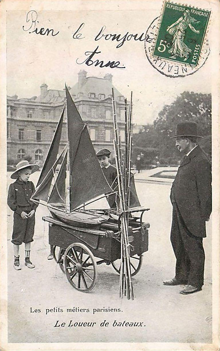 Les Petits Metiers Du Paris 1900 Fotografie