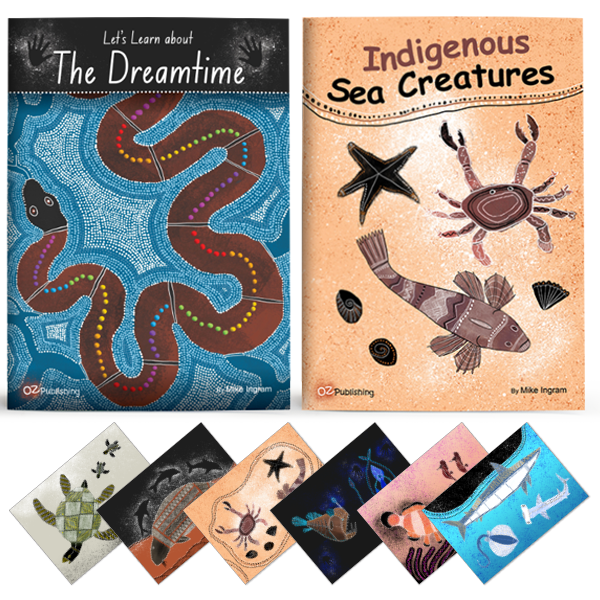 Indigenous Big Book Set Of 2 With Free Indigenous Posters