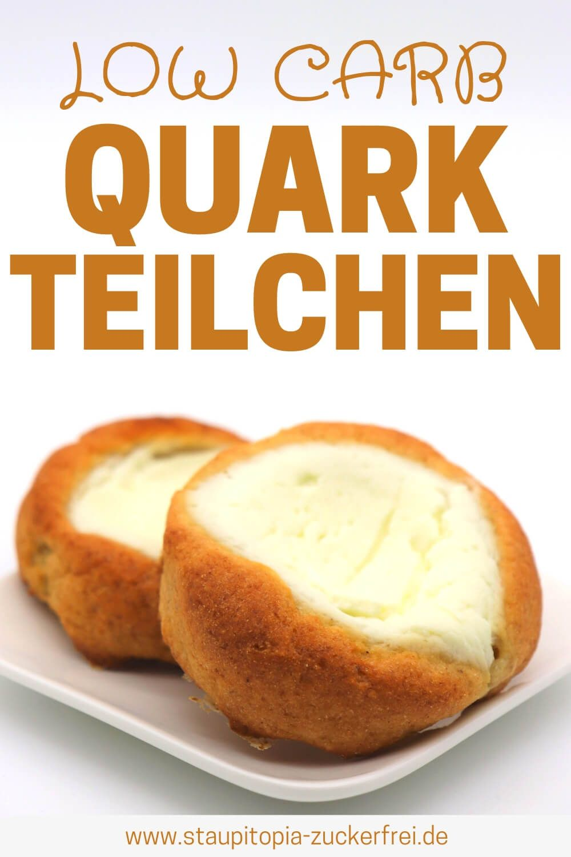 Low Carb Quark Teilchen - Staupitopia Zuckerfrei