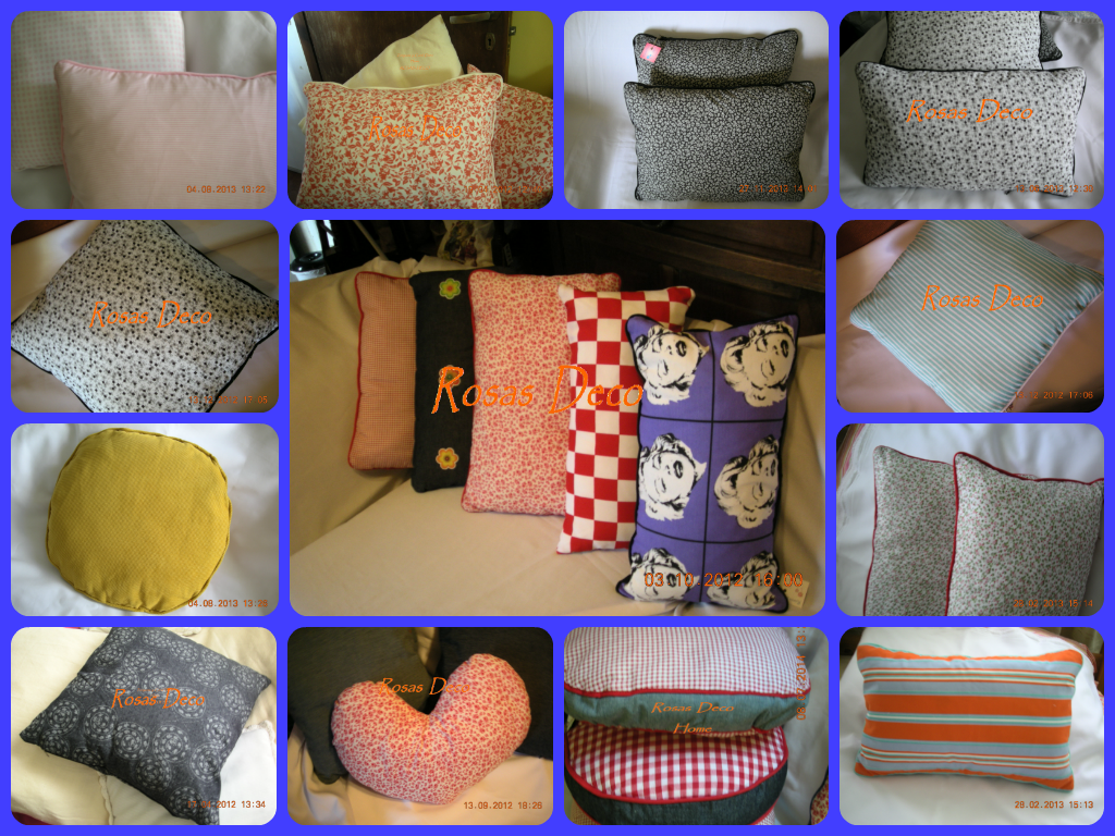 collage de almohadones
