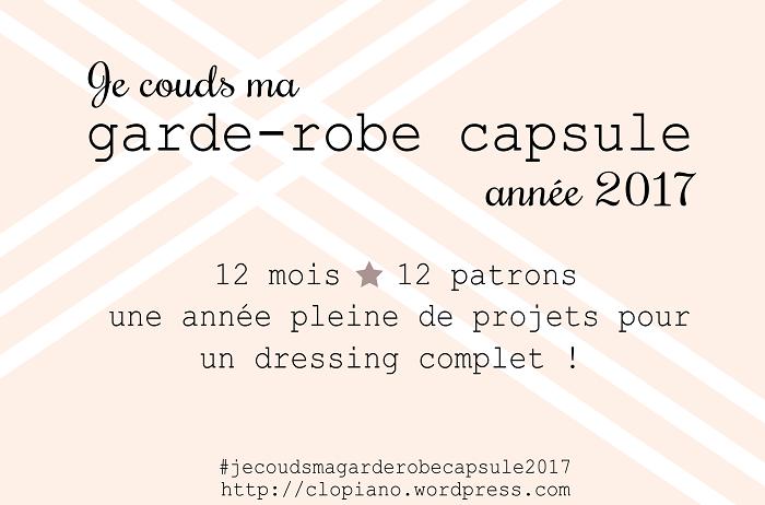 Ma garde robe capsule pour 2017