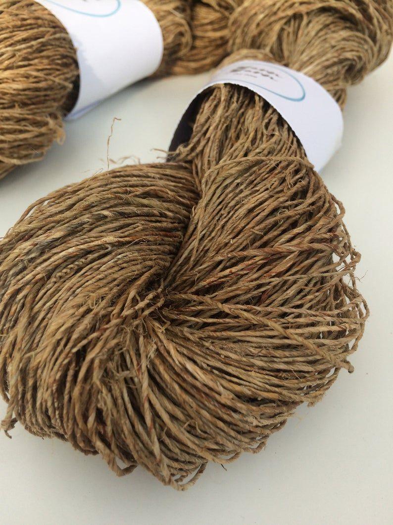 golden crochet UK crafts 100g handspun yarn knitting Sari silk yarn knit