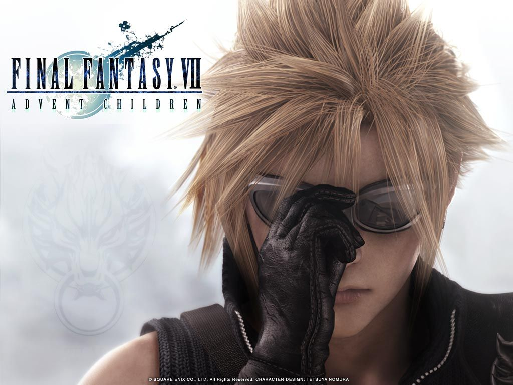 Final Fantasy Advent Children Wallpaper Final Fantasy Vll Ac Cc