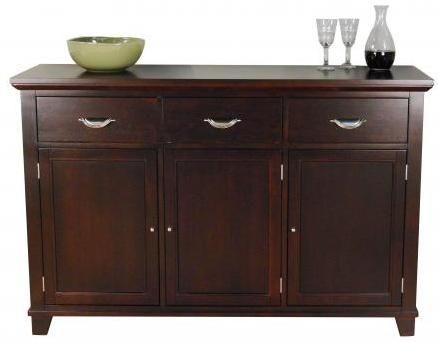 A Sideboard And Accent Piece To Store Serving Items A