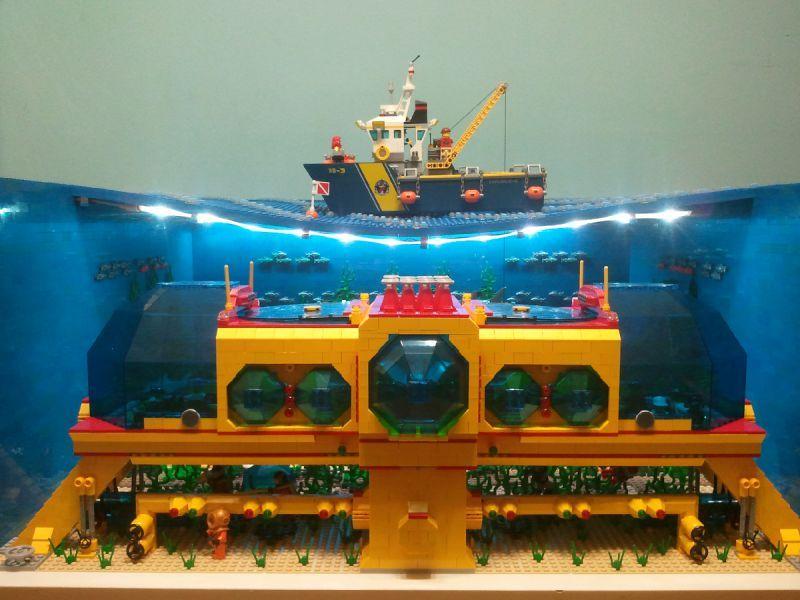 Underwater Base Lego Projects Lego Ship Lego Creations