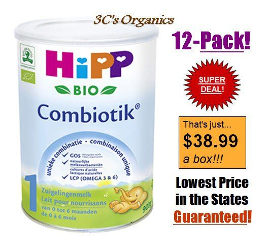 Hipp Organic Combiotic Formula Stage 1 First Infant Milk ...