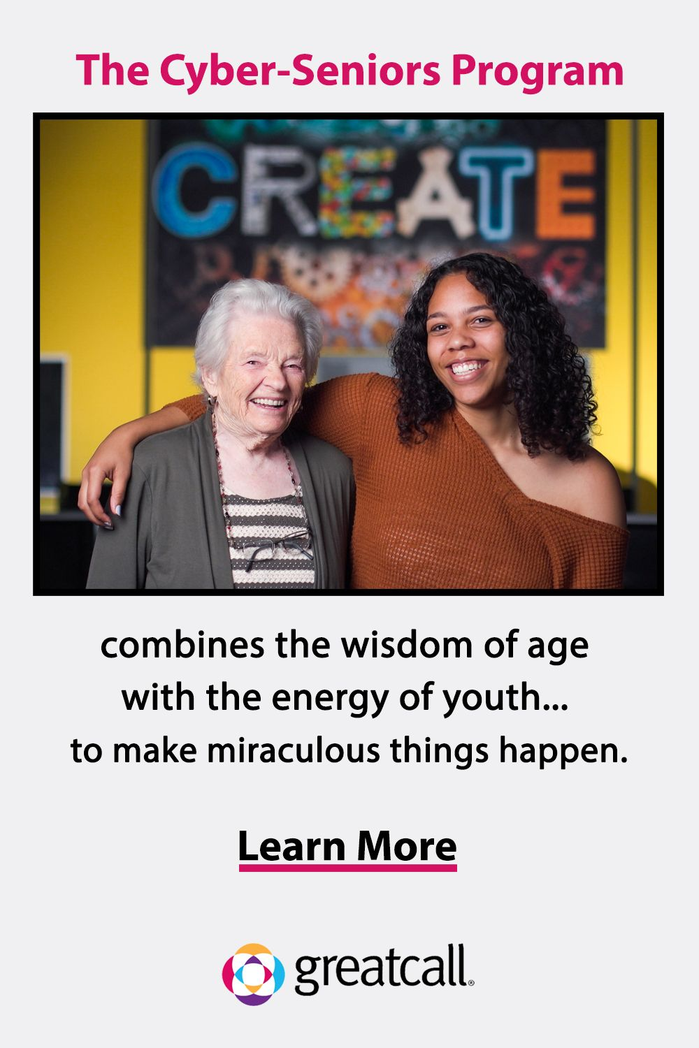 The Cyber-Seniors program brings two generations together.