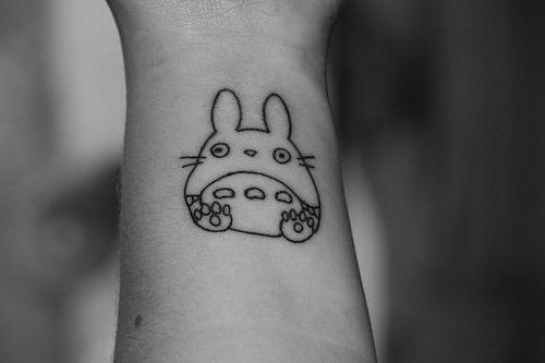 totoro tattoo | Tumblr