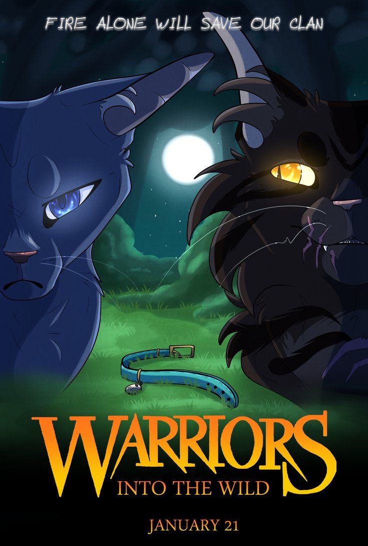 Warriors] Into The Wild Poster by BRlCK.deviantart.com on