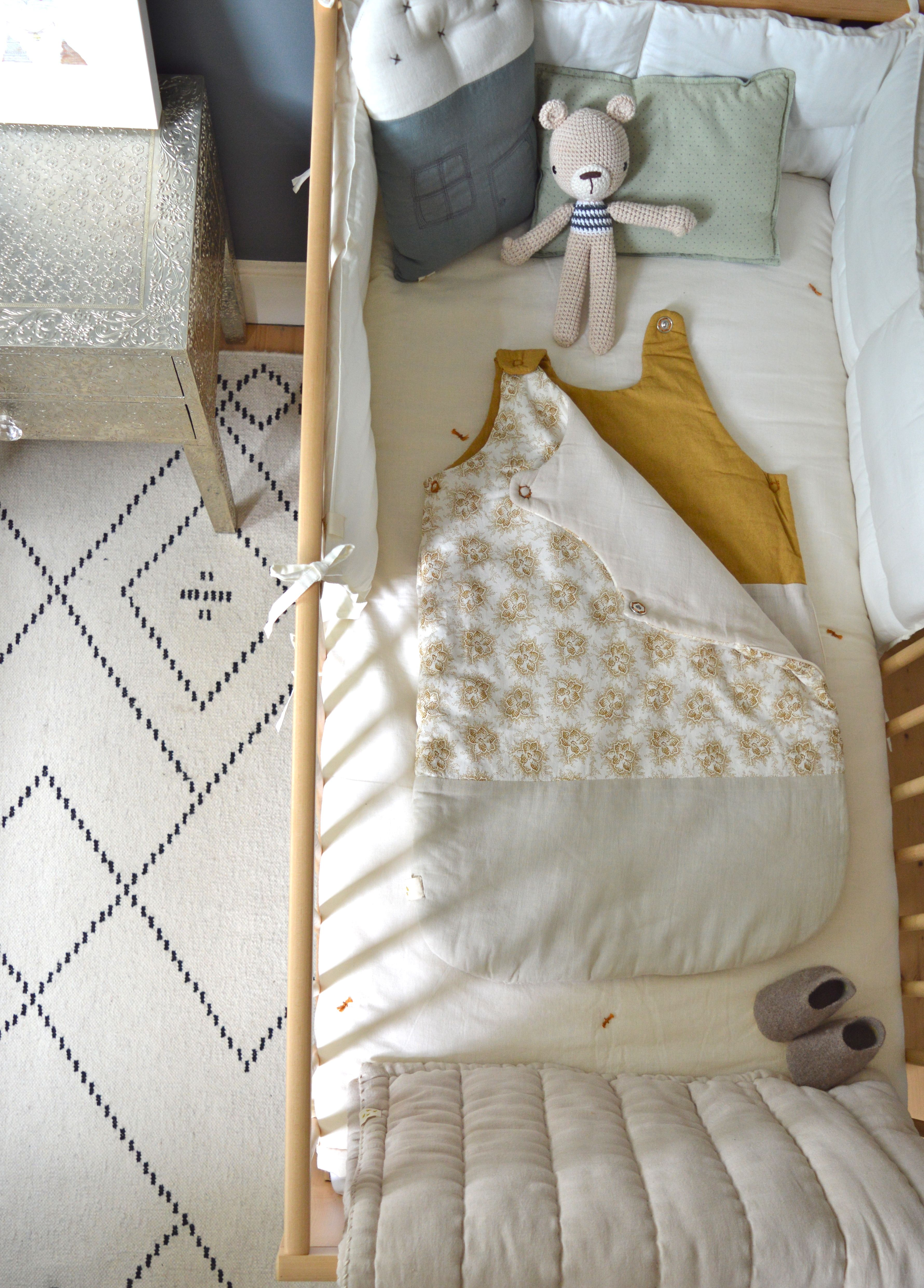 Simple and elegant babies bedroom. All Camomile London