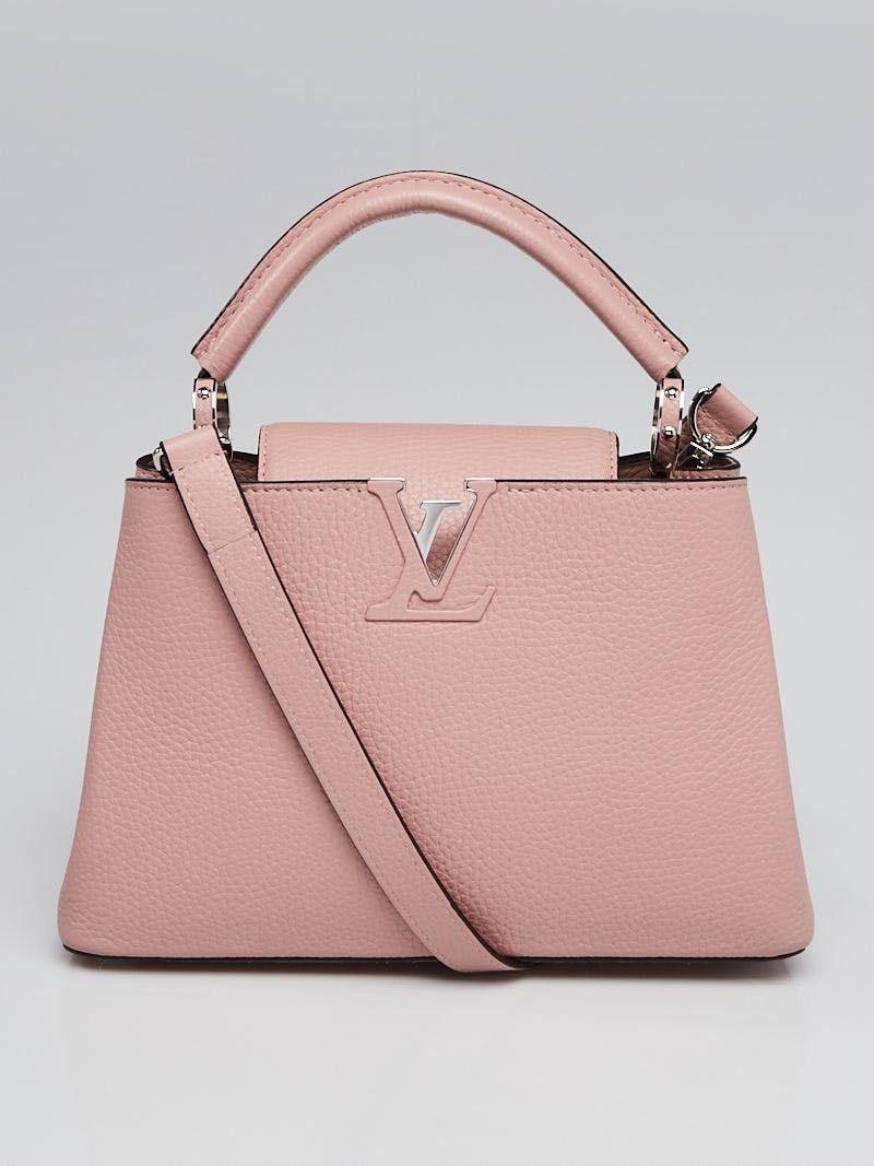 8f5a8dcae Louis Vuitton Petale Taurillon Leather Capucines BB Bag - Yoogi's Closet