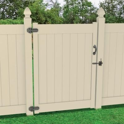 Veranda 5 1 2 In X 7 In X 9 In Vinyl Fence Gate Hinge Kit 73014089 The Home Depot In 2020 Vinyl Fence Fence Gate Gate Hinges