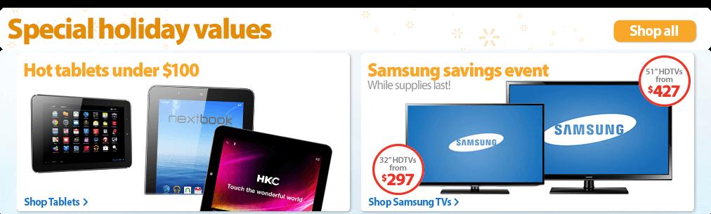 Walmart.com: Save money. Live better. Black Friday also Cyber Mondays Deals!