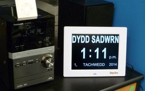 Dayclox International Digital Calendar Day Clock Clock Calendar