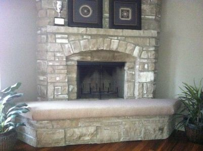 Customer Photos Fireplace Fireplace Seating Hearth