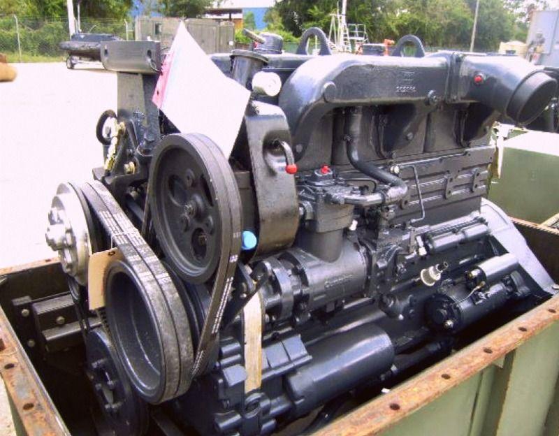 1984 Cummins Nhc 250 Diesel Engine 6 Cylinders For A 5