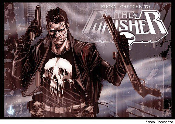 THE PUNISHER (2011)  by  GREG RUCKA + MARCO CHECCHETTO